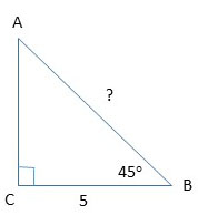 example 2 of the right triangle.