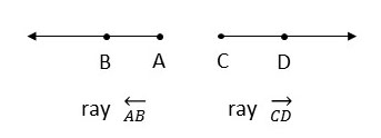 what is a ray? how to determine a ray?