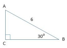 example 1 of the right triangle.