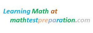 learning mathematics at the website of mathtestpreparation.com